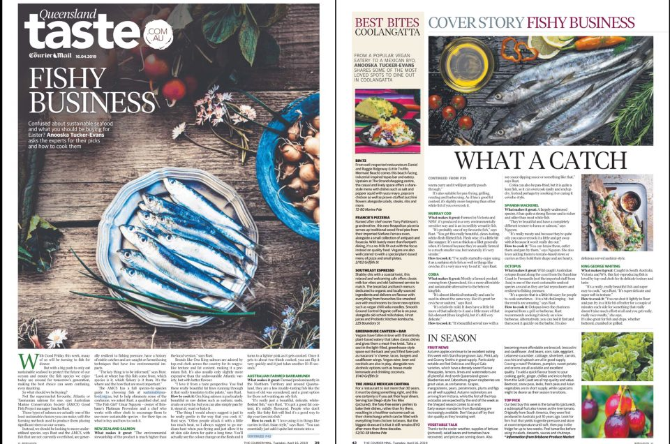 Queensland Taste - Courier Mail April 16, 2019